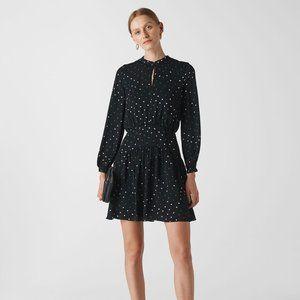 NEW Whistles Millie Star Print Dress